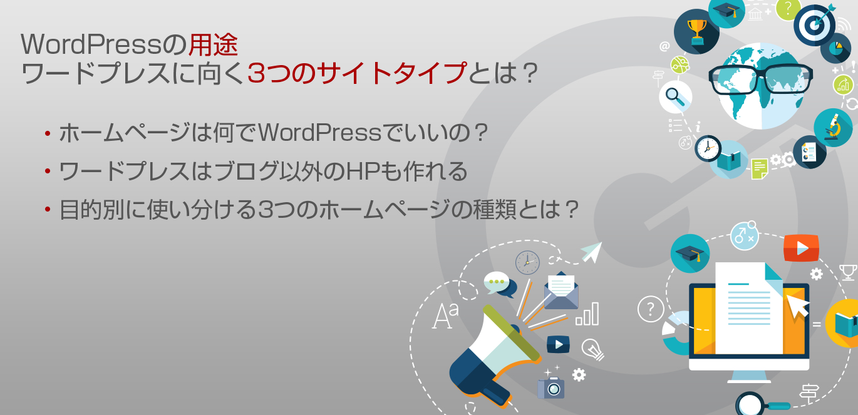 WordPressの用途