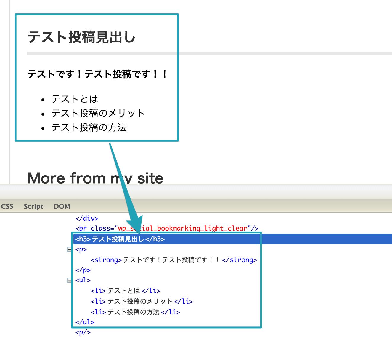 WordPressがHTMLに自動変換