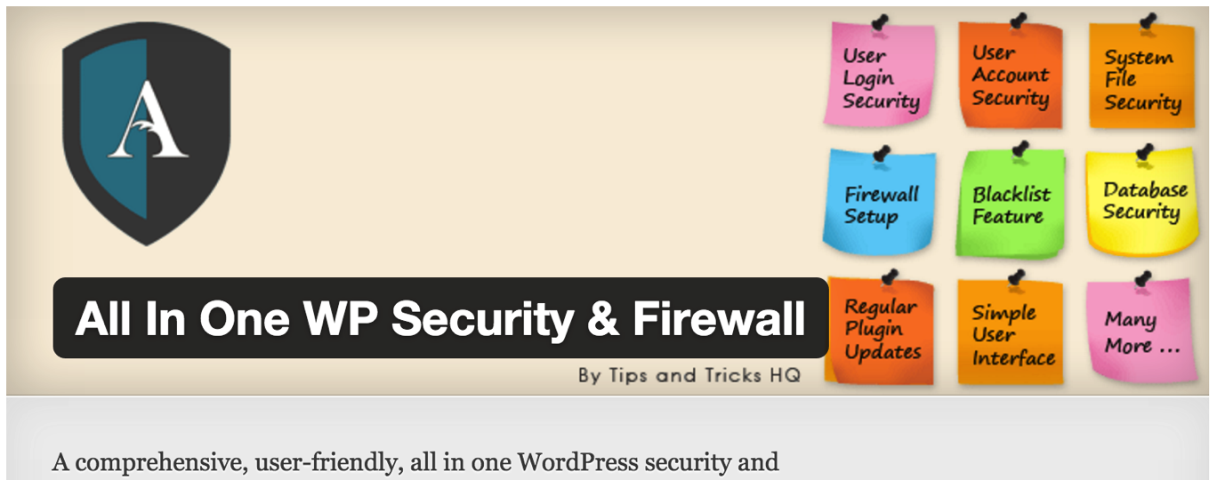 All in One WP Security&Firewall